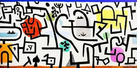 Klee Paul - Rich Harbour (detail)