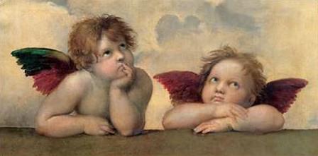 Raffaello - Angeli Madonna Sistina