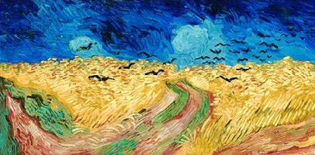 Van Gogh Vincent - Wheat Field with Crows