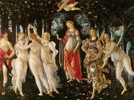Botticelli Sandro - Primavera