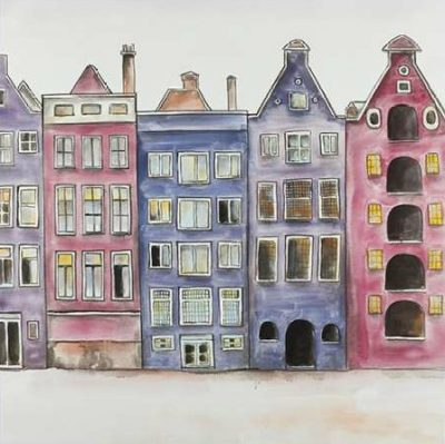 Atelier B Art Studio – Old Historic Houses Amsterdam