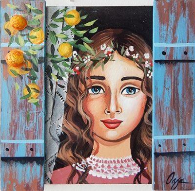 Όλγα – Κοπέλα στο παράθυρο