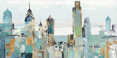 Pearce Allison – Teal City I