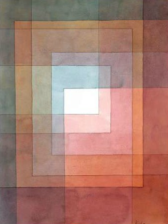 Paul Klee – White Framed Polyphonically