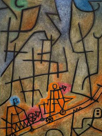 Paul Klee – Conquest of the Mountain
