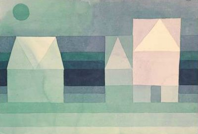 Paul Klee – Three Houses