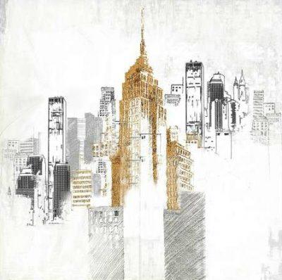 Atelier B Art Studio – Sketch style cityscape