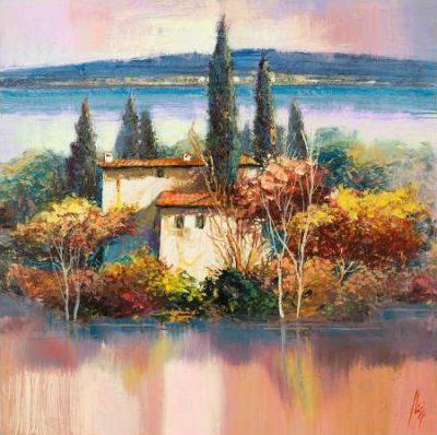 Florio Luigi – Case sul lago