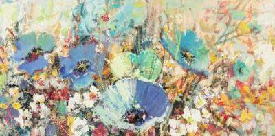 Florio Luigi – Campo di fiori in Primavera I detail