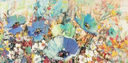 Florio Luigi - Campo di fiori in Primavera I detail