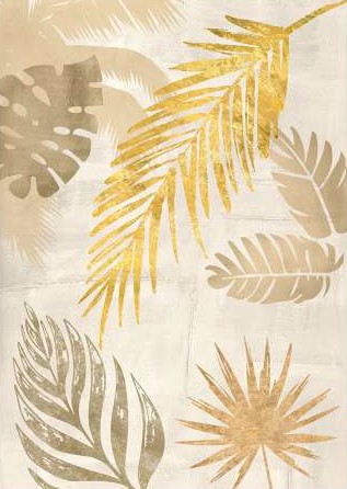 Grant Eve C – Palm Leaves Gold I