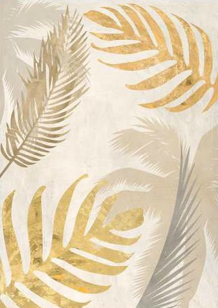 Grant Eve C – Palm Leaves Gold III