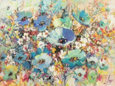 Florio Luigi – Campo di fiori in Primavera