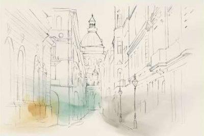 Isabelle Z – City Sketches I