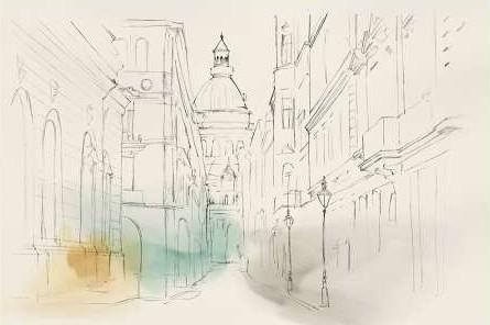 Isabelle Z - City Sketches I