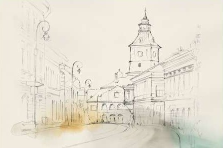 Isabelle Z - City Sketches II