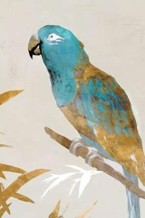 Isabelle Z – Blue Parrot II